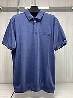 Мужская футболка поло Better Life. 843 navi. Размеры: M,L,XL,XXL.