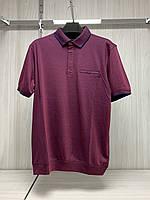 Мужская футболка поло Better Life. 843 red. Размеры: M,L,XL,XXL.