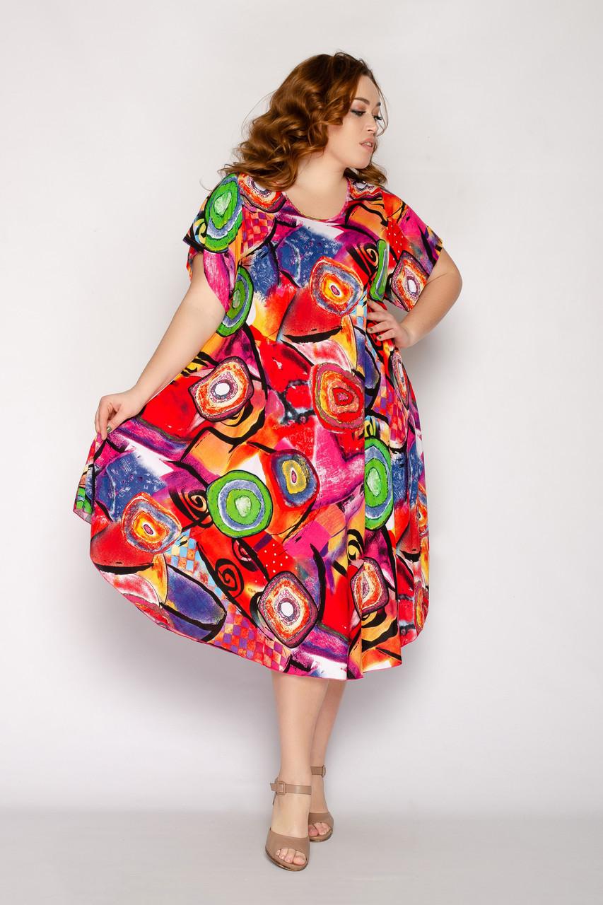 Женское летнее платье 1236-68
