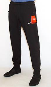 Чоловічі спортивні штани чорні манжет XL-XXL