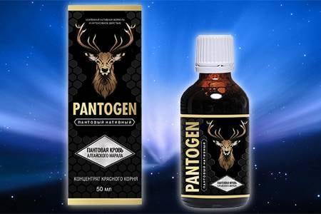 Капли для потенции Pantogen (Пантоген)