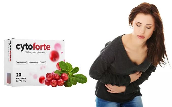 Cytoforte (Цитофорте) - капсули від циститу