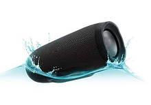 Портативная bluetooth колонка MP3 плеер E3 CHARGE3 waterproof водонепроницаемая Power Bank Black