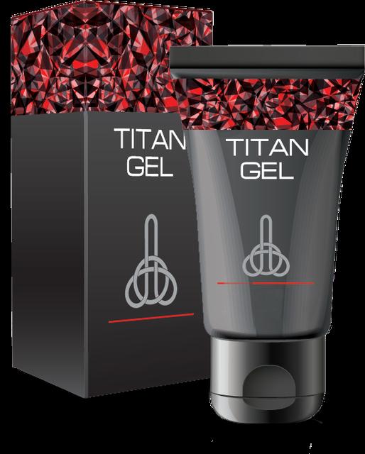 """Гель для увеличения члена """"Titan gel"""""""
