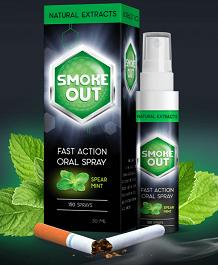 Смок Аут спрей от курения (Smoke Out спрей)