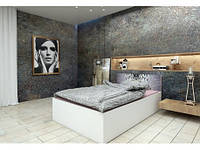 Подростковая двуспальная кровать HAPPY PRESTIGE OPEN 180x200 МОДЕЛЬ 03