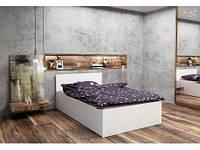 Подростковая двуспальная кровать HAPPY PRESTIGE OPEN 140x200