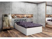 Подростковая двуспальная кровать HAPPY PRESTIGE OPEN 140x200 МОДЕЛЬ 02