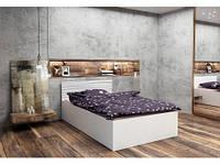 Подростковая двуспальная кровать HAPPY PRESTIGE OPEN 180x200 МОДЕЛЬ 06