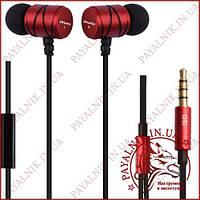 Наушники Awei ES-Q5i Red