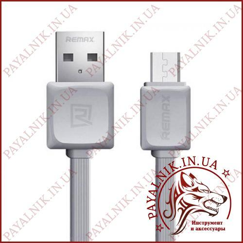 Кабель Remax Fast data Micro usb 1m (RC-008m) grey