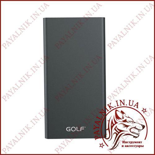 Портативная батарея GOLF Power bank 5000 mah Edge 5 Li-pol Black