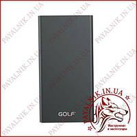 Портативна батарея GOLF Power bank 5000 mah Edge 5 Li-pol Black