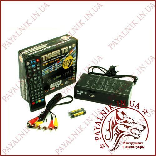 TV Тюнер Tiger T2 IPTV 2 USB + интернет + обучаемый пульт!