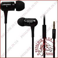 Наушники Awei ES100i с микрофоном Black