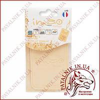 """Ароматизированная карта (освежитель воздуха) IMAO """"VANILLE VANILLE"""" 11g. Made in France."""