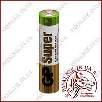 Батарейка Gp Super 1.5 V LR03, AAA alkaline 24A