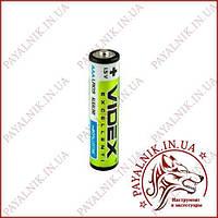 Батарейка Videx 1.5V LR03 AAA alkaline