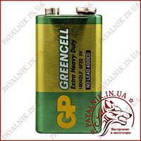 Батарейка Gp Greencell 9V 6F22 крона (1604GLF) солевая