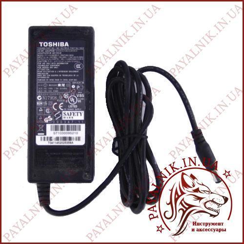 Блок питания для ноутбука TOSHIBA 19v 3.42a (model PA3714U-1ACA) (штекер 5.5/2.1мм) ORIGINAL Б/У