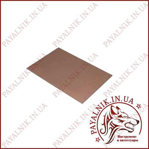 Текстолит FR4 1.5мм. (10*15) двусторонний, фольгированный
