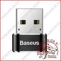 Перехідник Baseus Exguisite USB Male to Type-C Black