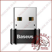 Переходник Baseus Exguisite USB Male to Type-C Black (CATJQ-A01)