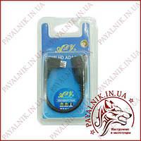 Переходник OTG Micro USB угловой в блистере