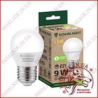Лампа светодиодная ENERLIGHT G45 9W 4100K E27