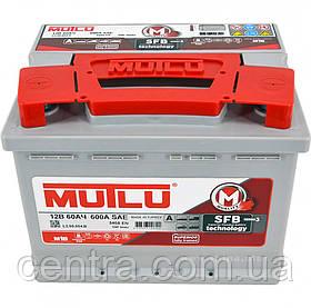 Автомобильный аккумулятор MUTLU 6СТ-60 L2.60.054.B