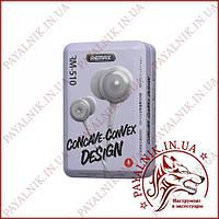 Навушники Remax RM-510 Earphone Grey