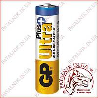 Батарейка GP Ultra Plus alkaline 1.5V LR6 AA (15AUPHM-2S2) луженая