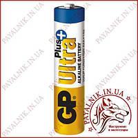 Батарейка GP Ultra Plus alkaline 1.5 V LR03 AAA (24AUPHM-2S2) луджена