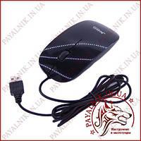 Мышка проводная USB оптическая Jedel Black