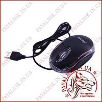 Мышка оптическая проводная USB Jedel 220 Black