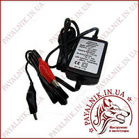 Зарядное для свинцовых аккумуляторов 6V 1-8Ah Vipow BAT1127
