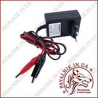 Зарядний пристрій для свинцевих акумуляторів 6v (струм 1а) автовідключення