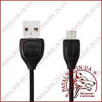 Кабель Remax Lesu Micro USB RC-050m Black