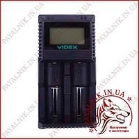 Универсальное зарядное устройство Videx UT201 для разных типов аккумуляторов + тест емкости