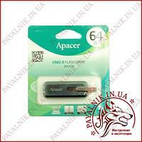 USB Flash 64Gb Apacer AH326 Black