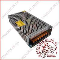 Блок питания Venom 12v 16a 200w IP20 Металлический перфорированный (VST-200-12) (199*98*43)