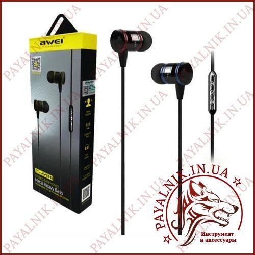 Навушники Awei ES-220Hi Silver