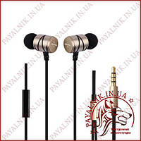 Навушники Awei ES-Q5i Gold