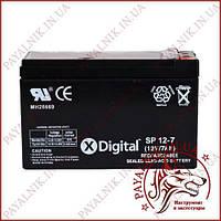 Аккумулятор свинцово-кислотный Digital 12v 7a