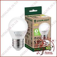 Лампа светодиодная ENERLIGHT G45 5W 4100K E27