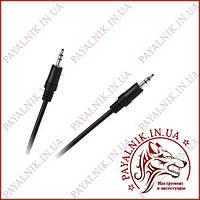 Аудио кабель mini jack 3.5мм 5.0м Польша (KPO2743-5) (aux audio cable)