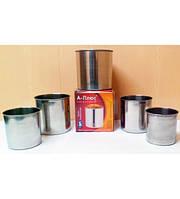 Набор форм для выпечки Пасхи/Кулича (5 шт) A-Plus, арт. 0503