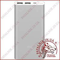 Портативная батарея Xiaomi Mi Power bank 2i 10000mah Silver, фото 1
