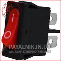 Переключатель MRS-101-5С3 ON-OFF 2-х контактный, 6A, 220V, красный