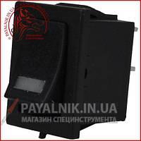 Переключатель с подсветкой MIRS-101-3+LED ON-OFF 4-х контактный, 3A, 220V, красный